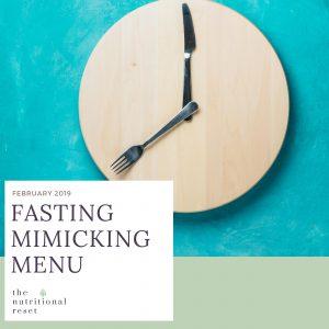 Toronto Holistic Nutritionist Laurie McPhail Fasting Mimicking Menu