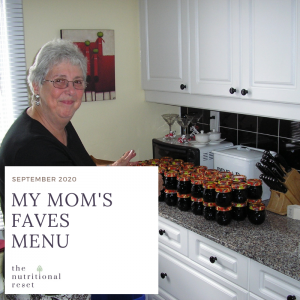 Toronto Holistic Nutritionist Laurie McPhail My Mom's Faves