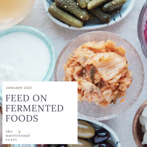 Toronto Holistic Nutritionist Laurie McPhail Feed on Fermented Foods Menu