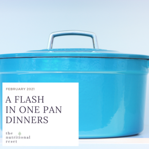 Toronto Holistic Nutritionist Laurie McPhail A Flash in One Pan Dinners