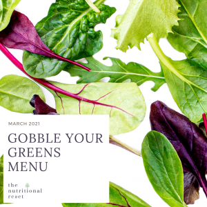 Toronto Holistic Nutritionist Laurie McPhail Gobble Your Greens Menu
