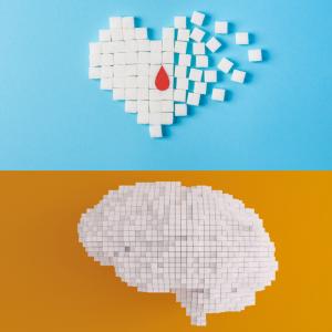 Sugar affects heart and brain health